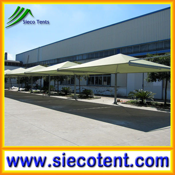 Cheap and high quality carports garages with polycarbonate roof
