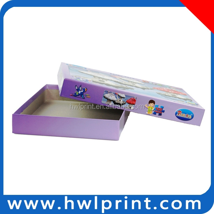 cheap promotional boxes carton package puzzle paper box