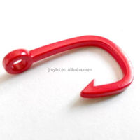 Plating red miansai Fishing alloy/brass/stainless steel hook