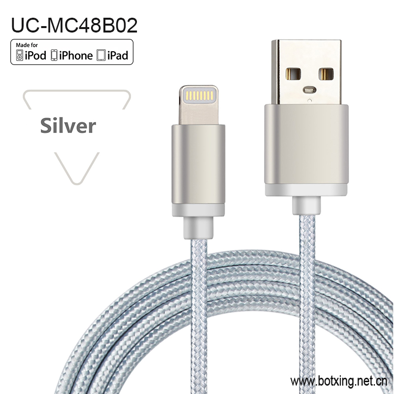 100% MFi certified phone High speed charging usb <strong>cable</strong>