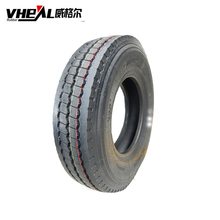 Super single truck tire 385 radial tubeless performance tires