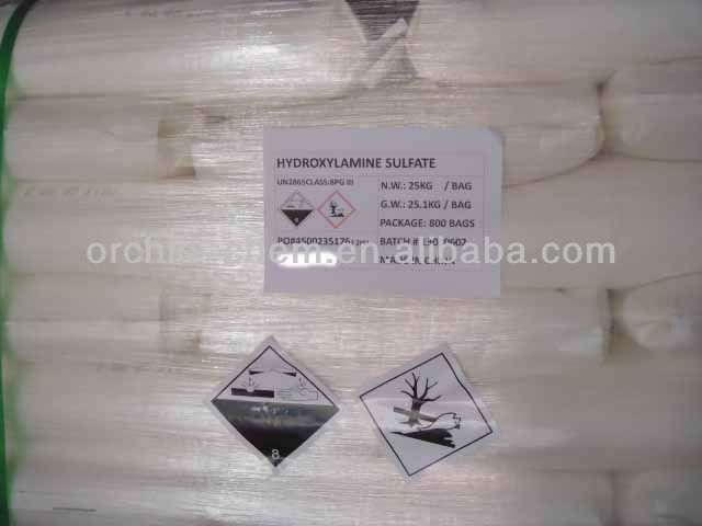 Hydroxylamine Sulfate for textile CAS#10039-54-0