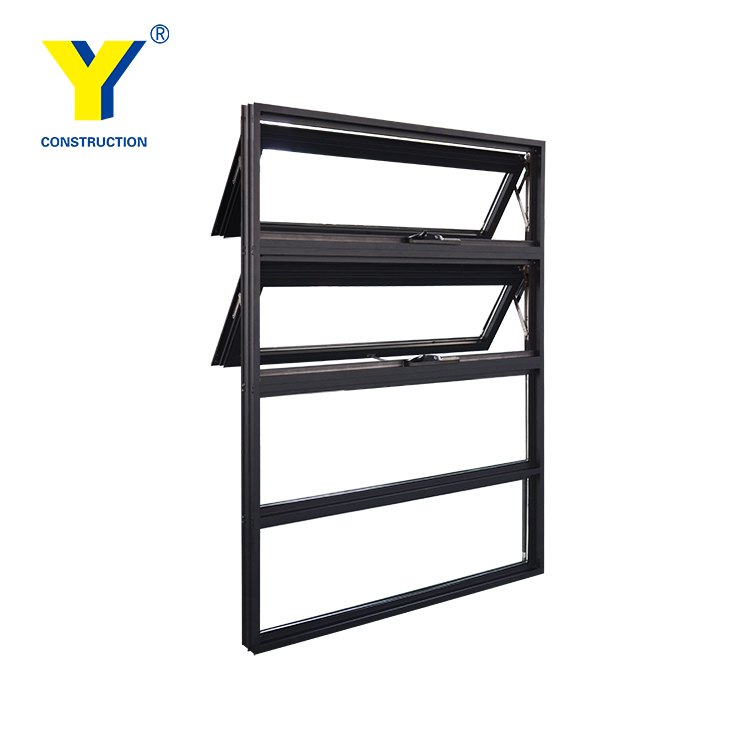 AS2047/AS2208 aluminium industrial windows/fixed window in hot sale