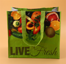 wholesale customized printing rpet non woven shopping bag