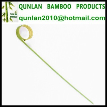 Eco-friendly Bamboo Fruit Cocktail Sticks