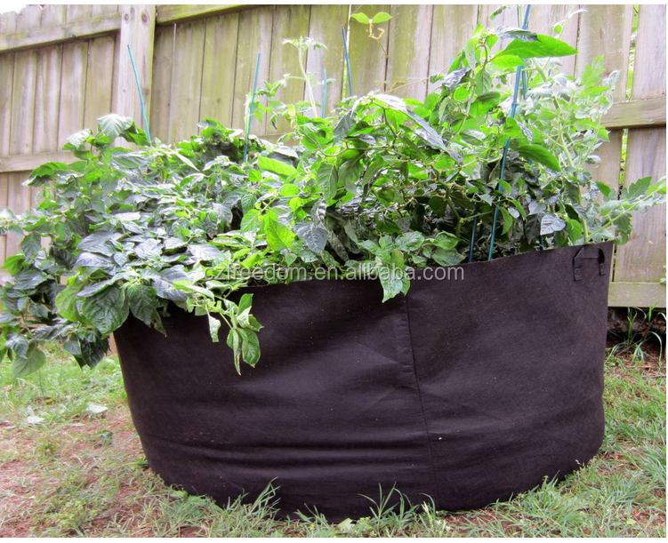 Geotextile Nonwoven Fabric Planting Grow Bag