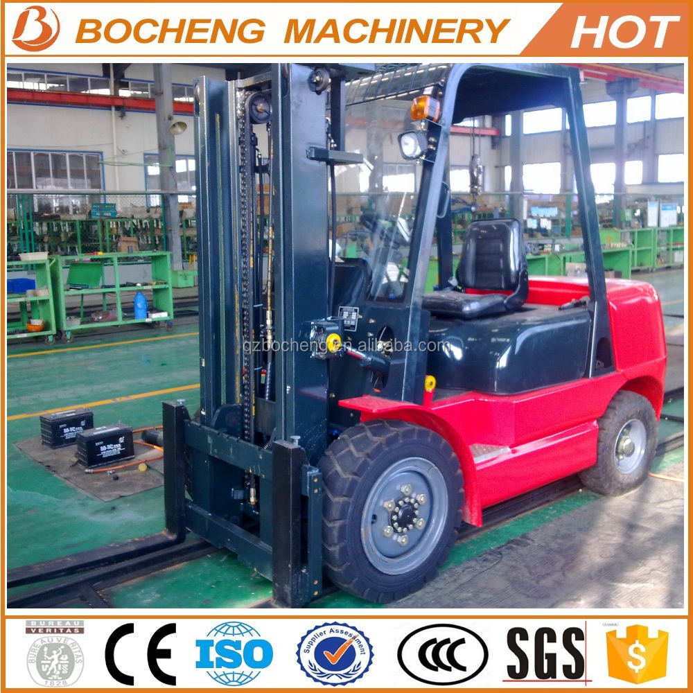chinese 3 ton small mini diesel forklift truck cpc30