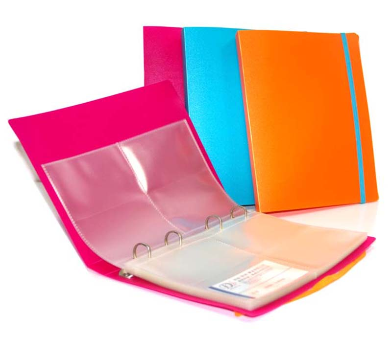 Wholesale PVC cover Photo Album PP Inner Page Photo Album with Elastic Bandage