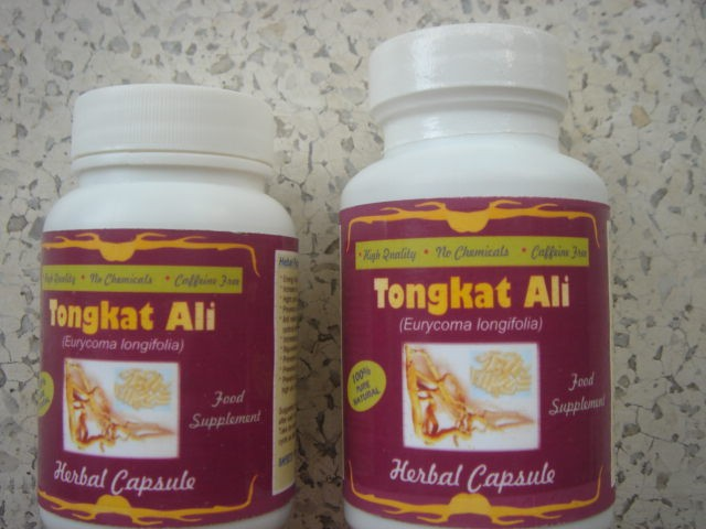 Tonkat Ali Herbal Capsule 500mg x 60caps.