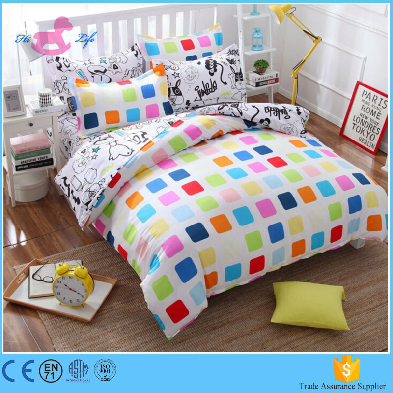 Beautiful cute comfortable wholesale quilt cover quilt cover set bedding duvet cover set