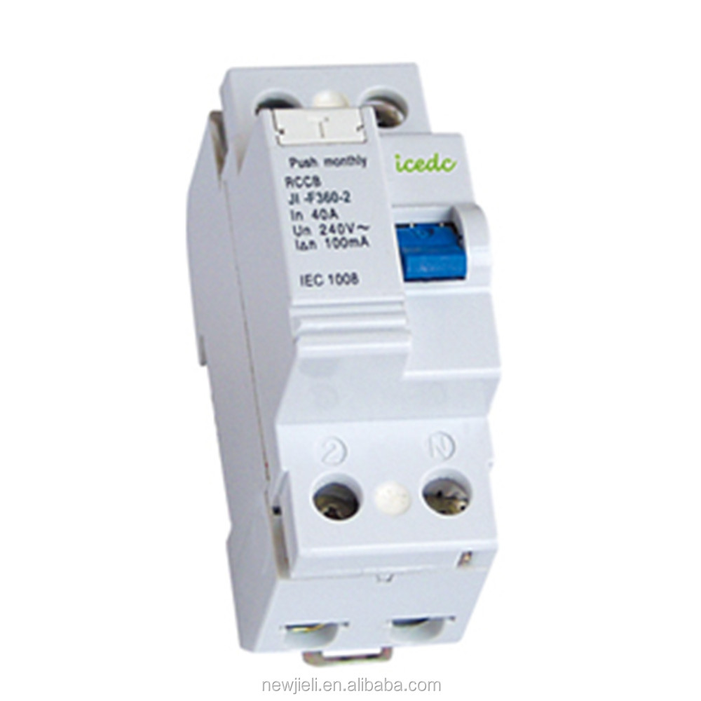Stock processing, JIELI F360 type RCCB circuit breaker, the lowest price