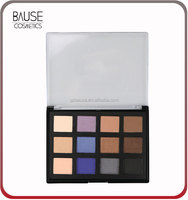 12 color naked eye shadow palette netural matte eyeshadow palette