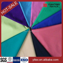 wholesale fabric 65% polyester 35% cotton 21x21 100x52 for t shirt material fabric