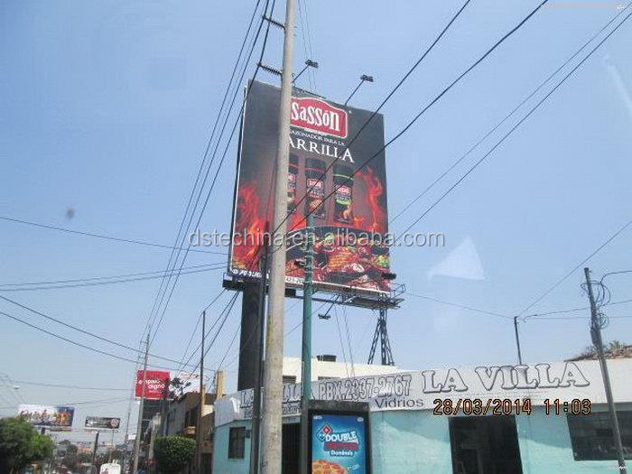 Design hotsell unipolar large outdoor billboard prices
