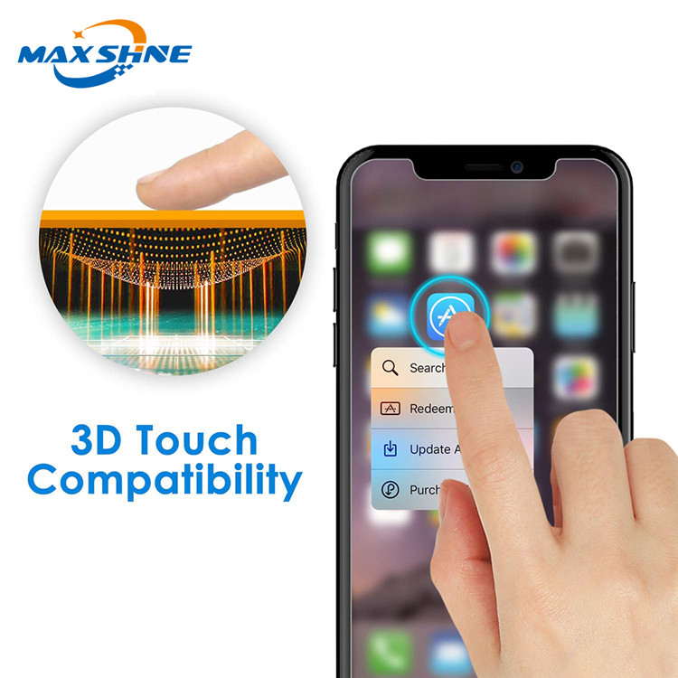 2.5D Mobile Screen Protector Tempered Glass For Iphone XS Glass Protector
