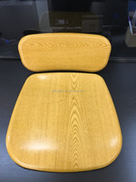 Werzalit technology school furniture table and chair, seat panel for classroom