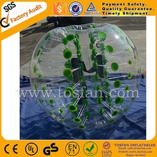 Top-rated supplier inflatable belly bumper ball human soccer bubble TB234