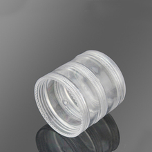 5g 10g Round Clear Plastic Stackable Loose Powder Jar for Loose Powder