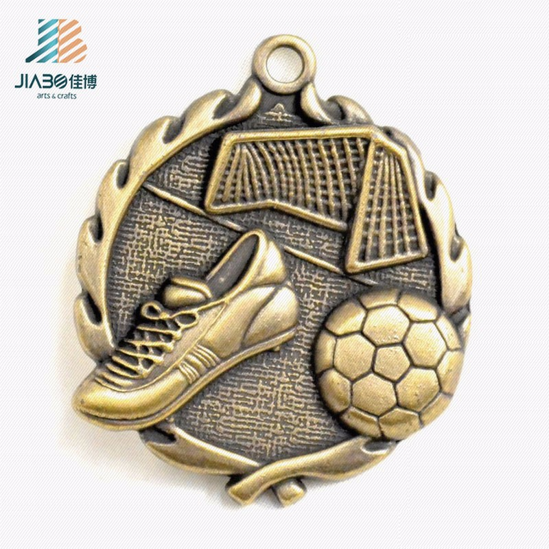 china suppliers custom metal made sport souvenir medal soccer