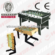 2014 New design 4/5/6/7ft soccer table, babyfoot commercial hot sell soccer table for Foosball Game