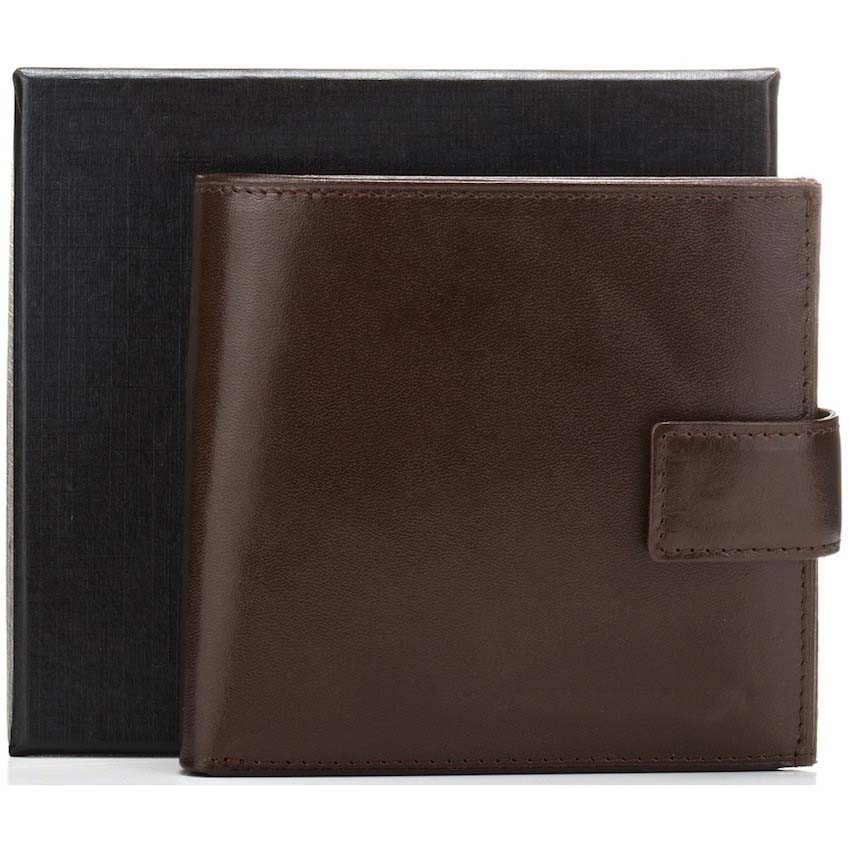 Hot sales bi-fold multifunctional men card holder purse italian vegetable tanned leather coin wallets