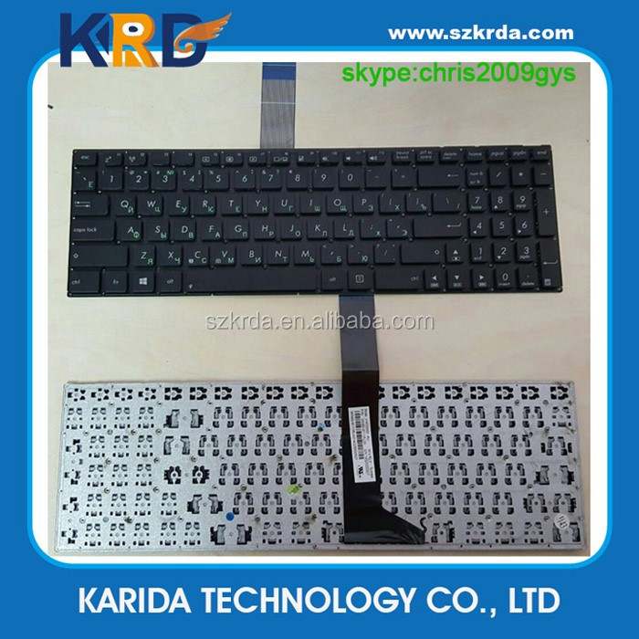 Wholesale laptop keyboard for ASUS X550 X501 Y581C S550 A550 x501U X550C RU notebook keyboard