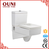 ON-720 Europe quality standard stain resistant white wall hang toilet