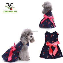 Amazon Hot Selling Dog Dress For Girl Very Beauty Pet Dress For Small Medium Dog