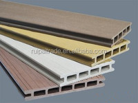 waterproof exterior wall decoration Wood plastic composite wall panel WPC