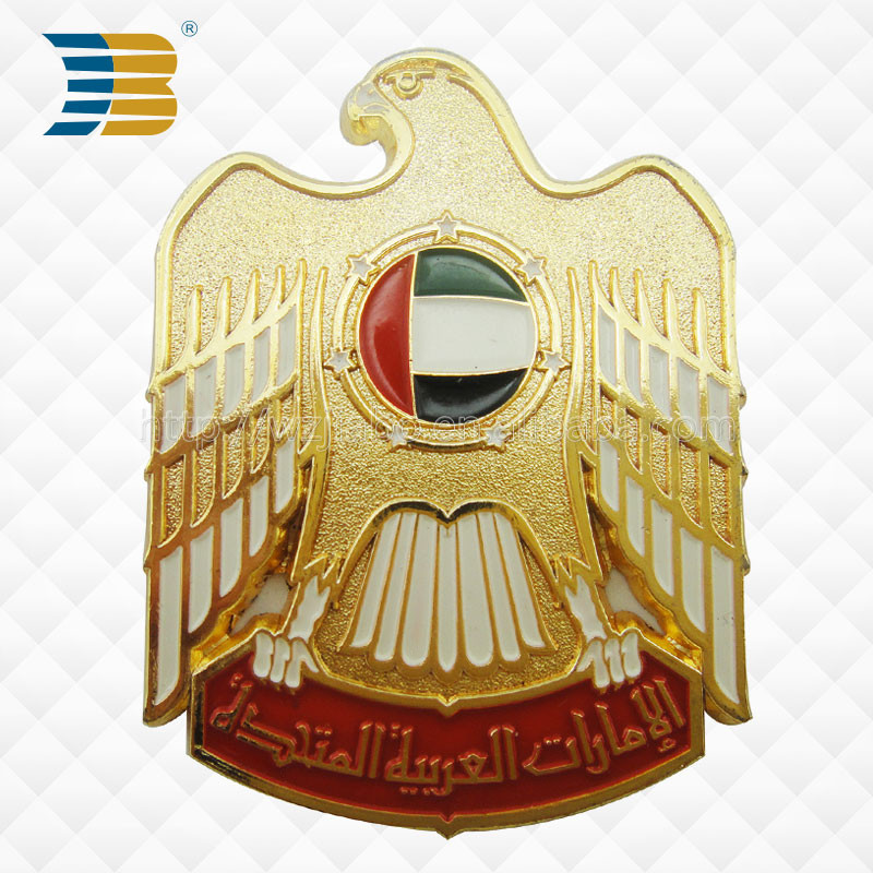 factory direct sale hard enamel custom metal pilot wings lapel pin badge