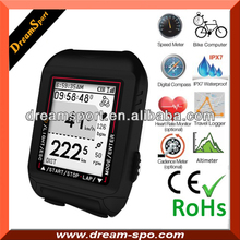 22 Functions heart rate monitor wireless Rohs Bicycle Computer
