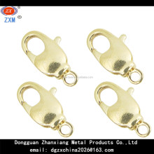 Jewelry Clasp Lobster Clasp Swivel 14 mm Gold Plated