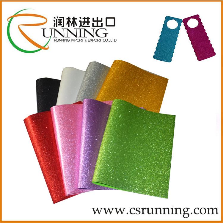 Goma foam glitter eva foam sticker