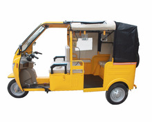 Gasoline Three Wheel Motorcycle Taxi For Africa / Keke Bajaj 3 Wheel Adult Motor Tricycle