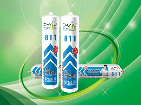 Best Quality DY811 RTV silicon sealents transparent liquid silicon rubber sealant
