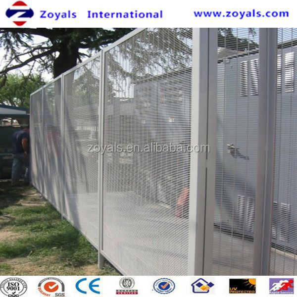2016 Security fence:guangzhou anti climb spiked security fence