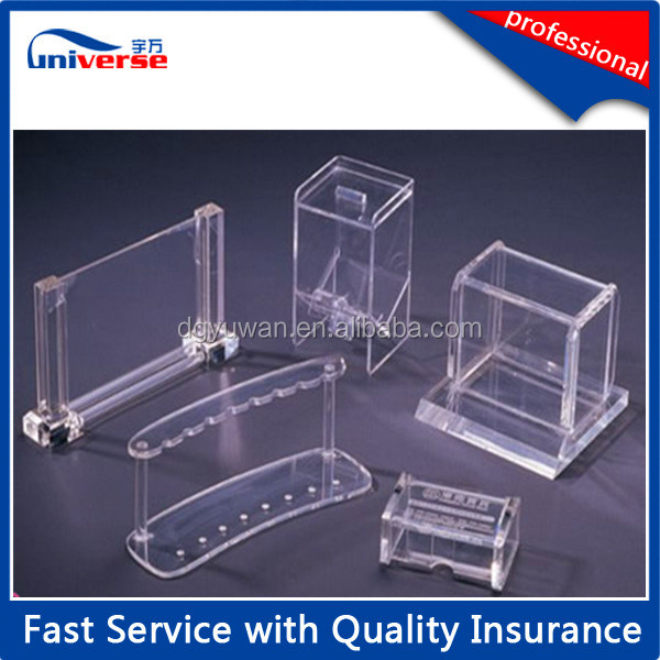 Custom transparent square plastic container