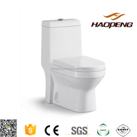 A-2340 Bathroom Washdown Toilet One Piece Toilet/Colored Toilet Bowl Price