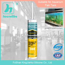 China Foshan factory special large glass silicone sealant 388