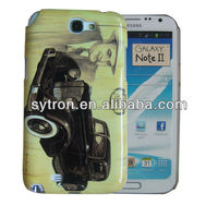 Hot selling Cell Phone Sublimation 3d Polymer Case for samsung note2 case