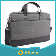 Custom 17.3 inch polyester laptop messenger bag, laptop shoulder bag