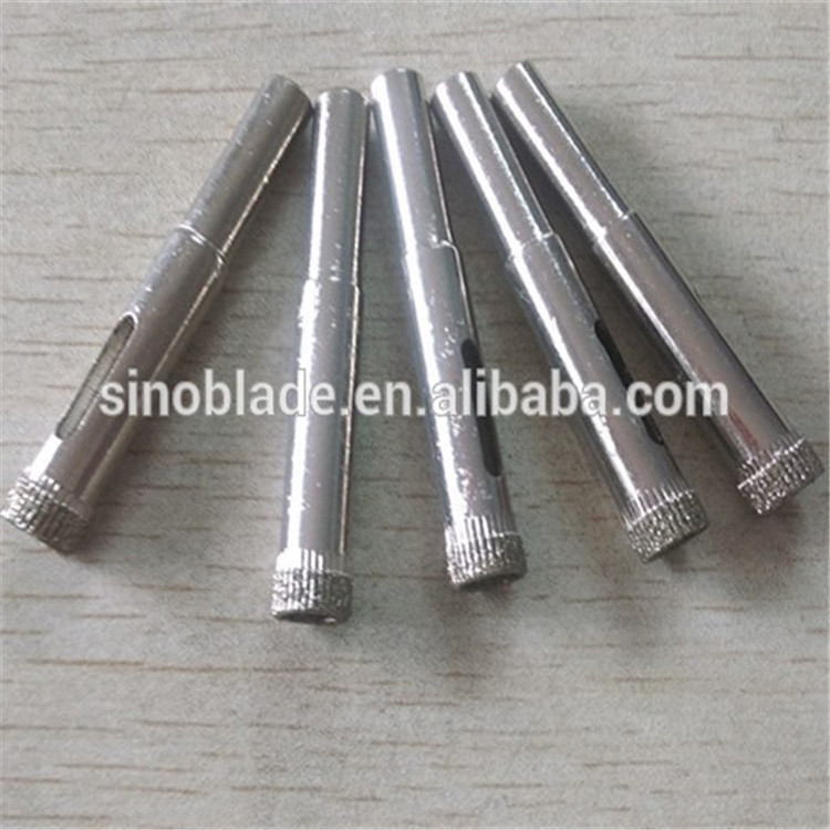 Ceramic tile hole saw / diamond core drill bit for porcelain / electroplated diamond drill bit