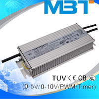 INVENTRONICS 70-1050 mA input voltage Dimmable constant current led driver waterproof IP67 250W 700mA transformer mbt