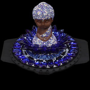 Custom Rhinestone Buddha Car Perfume Seat, Custom Car Scent Air Freshener For Car Accessories
