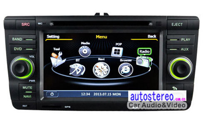 7 inch Car Stereo DVD for Skoda-Octavia-Laura-Fabia-Yeti car GPS Satnav Headunit Autoradio