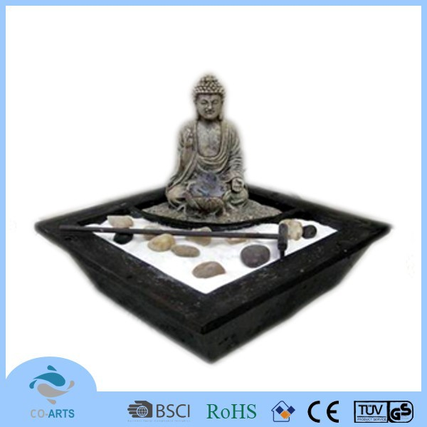 Buddha statues small for sale indoor led water fountain