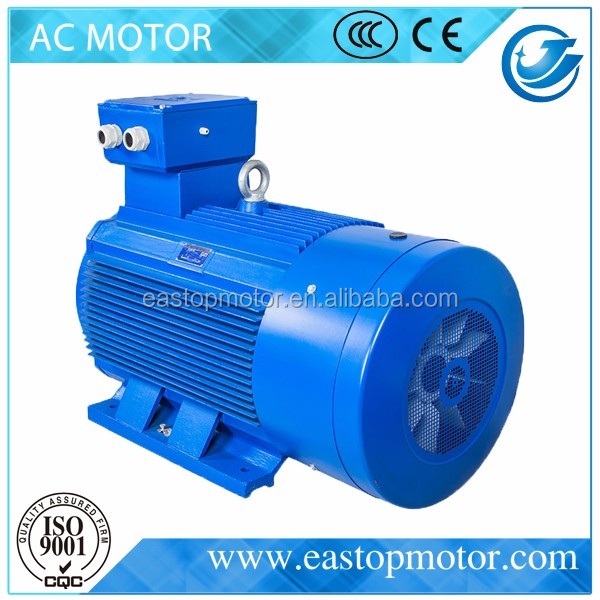 CE Approved Y3 150 kw electric motor for crushers with Cast-iron housing