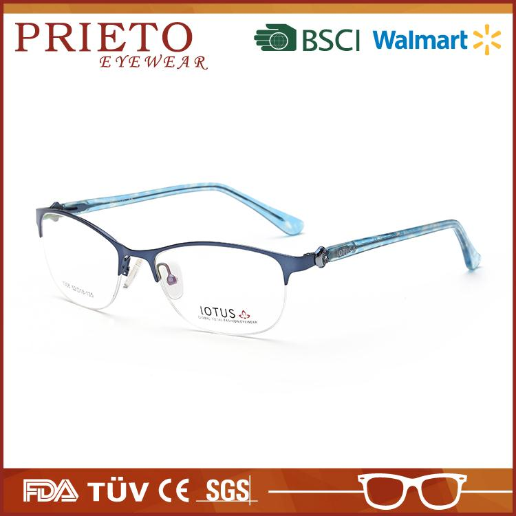 Fashion optical frames with logo with great price