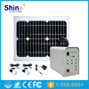 Grid Tied Mini Portable 30W Solar Power Home System with Led Lights