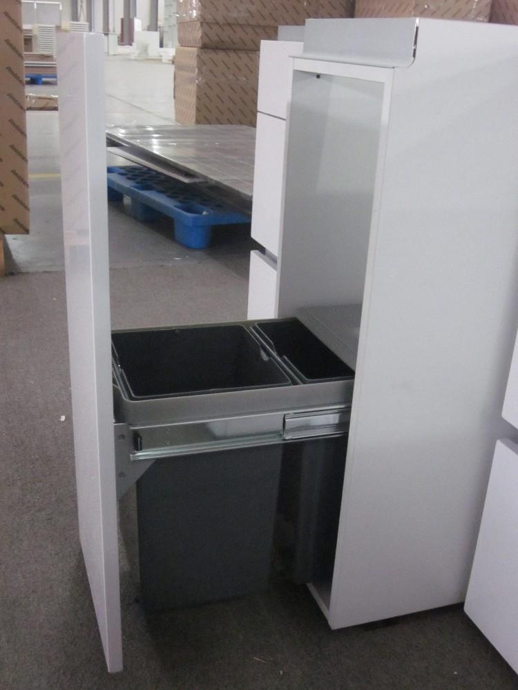 2015 nuovo design moderno costruito nel manico armadio cucina in ... - Costruito Nel Design Armadio